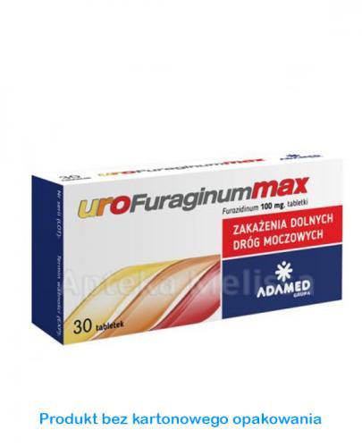 UROFURAGINUM MAX - 30 tabl. - Apteka internetowa Melissa
