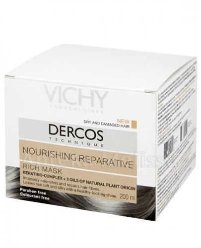 VICHY DERCOS Maska do włosów suchych - 200 ml + VICHY DERCOS NEOGENIC Szampon - 7 ml GRATIS !