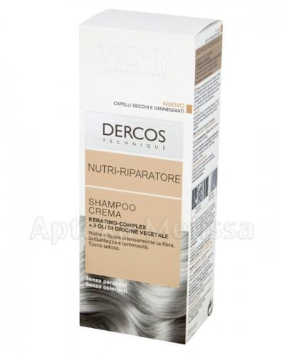 VICHY DERCOS Szampon do włosów suchych i zniszczonych - 200 ml + VICHY DERCOS NEOGENIC Szampon - 7 ml GRATIS !