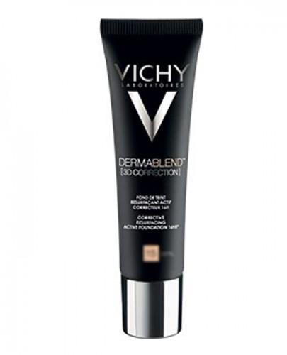 VICHY DERMABLEND Podkład wyrównujący korekta 3D 25 - 30 ml + Prezent Gąbka blender do makijażu - Apteka internetowa Melissa