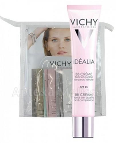 VICHY IDEALIA BB CREAM SPF25 Odcień ciemny - 40 ml + Pakiet próbek Vichy w kosmetyczce GRATIS !