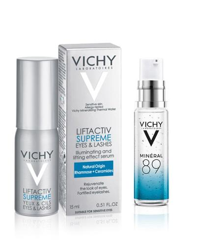 VICHY LIFTACTIV SUPREME SERUM 10 Oczy i Rzęsy Serum przeciwzmarszczkowe i wzmacniające rzęsy - 15 ml - cena, opinie, właściwości