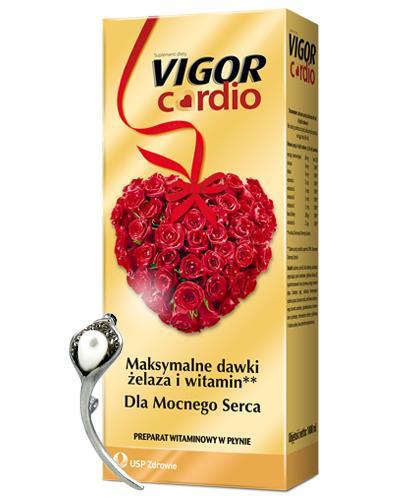 VIGOR CARDIO Tonik bezalkoholowy - 1000 ml + Broszka  - Apteka internetowa Melissa