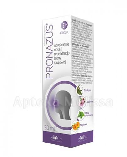 PRONAZUS  Udrożenienie nosa i regeneracja błony śluzowej - 20 ml  - Apteka internetowa Melissa
