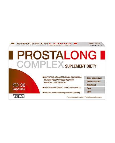 PROSTALONG COMPLEX - 30 kaps. - Drogeria Melissa
