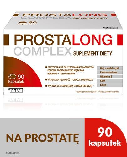 PROSTALONG COMPLEX - 90 kaps. - Drogeria Melissa