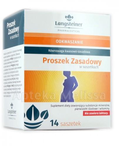 LANGSTEINER Proszek zasadowy - 14 sasz. - Apteka internetowa Melissa