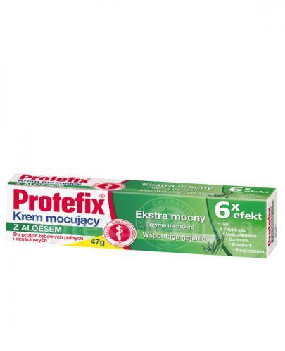 PROTEFIX Krem mocujący z aloesem - 47 g - Drogeria Melissa