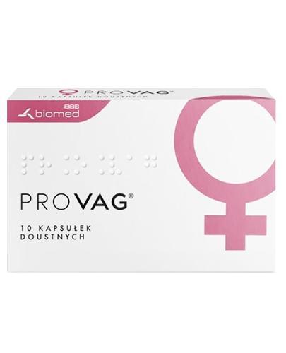 PROVAG - 10 kaps. Probiotyk dla kobiet - cena, opinie, wskazania - Drogeria Melissa