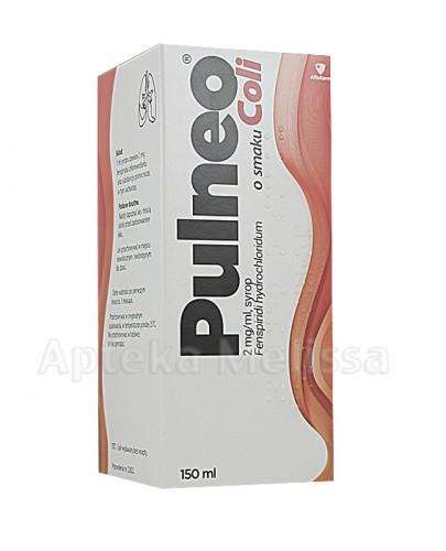 PULNEO Syrop o smaku coli 2 mg /1 ml - 150 ml - Apteka internetowa Melissa