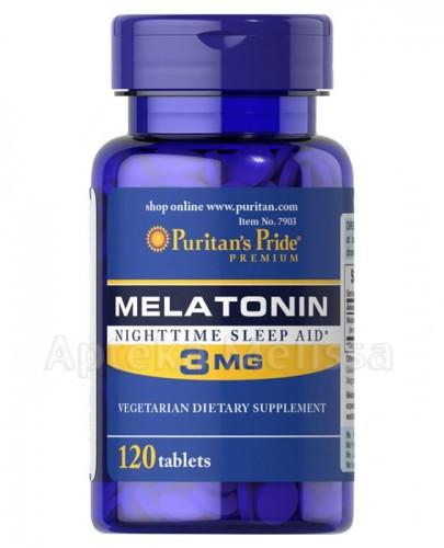 PURITANS Melatonina 3mg 120 tabl.