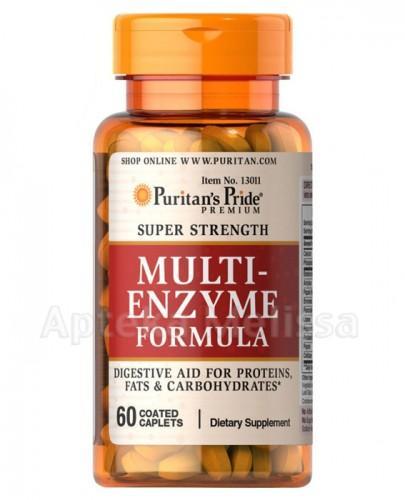 PURITAN'S PRIDE Multi Enzyme Formula Enzymy Trawienne - 60 tabl. - Apteka internetowa Melissa