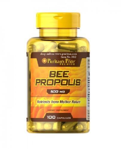 PURITAN'S PRIDE BEE PROPOLIS 500mg - 100 kaps. - Apteka internetowa Melissa
