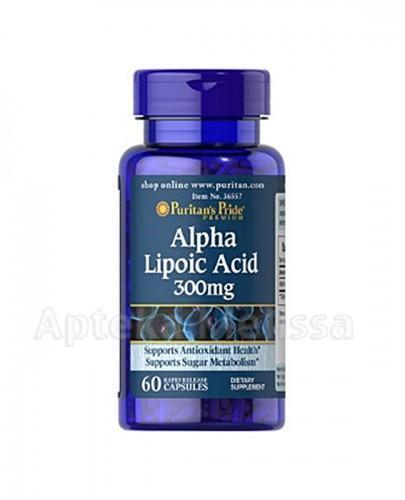PURITAN'S PRIDE KWAS ALFA LIPONOWY 300 mg - 60 kaps. - Apteka internetowa Melissa