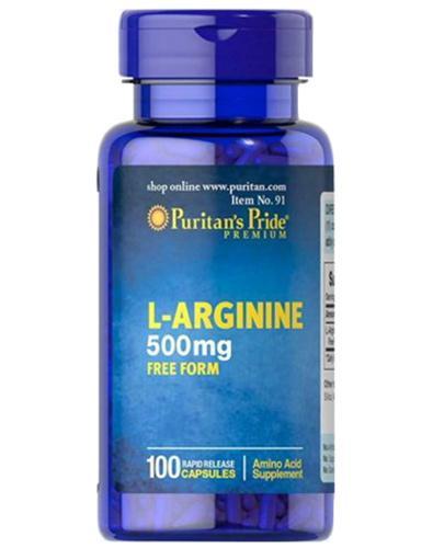 Puritan's Pride L-Arginina 1000 mg - 100 kaps. - cena, opinie, dawkowanie - Apteka internetowa Melissa