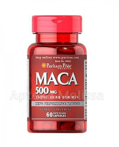 PURITAN'S PRIDE MACA 500 mg - 60 kaps. (PURITANS PRIDE) - Apteka internetowa Melissa