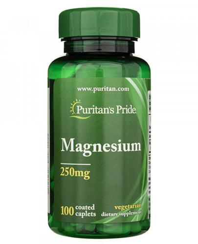 PURITAN'S PRIDE  MAGNEZ 250 mg - 100 tabl. - Apteka internetowa Melissa
