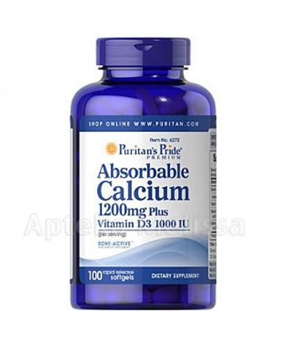 PURITAN'S PRIDE PRZYSWAJALNY WAPŃ 1200 mg - 100 kaps. - Apteka internetowa Melissa