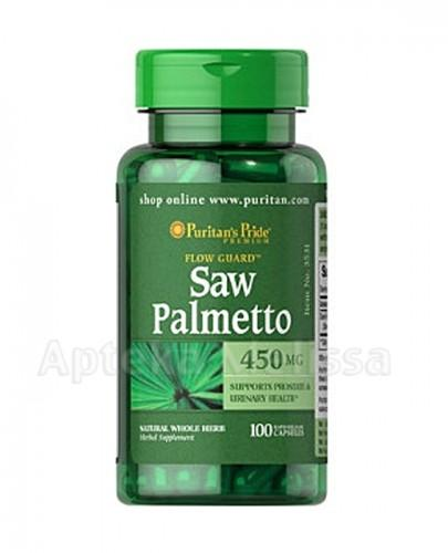PURITAN'S PRIDE SAW PALMETTO 450 mg - 100 kaps. (PURITANS PRIDE)