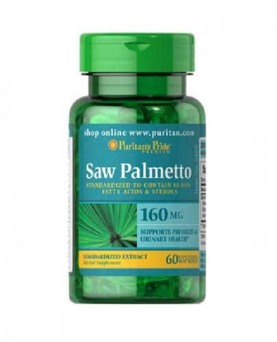 PURITAN'S PRIDE SAW PALMETTO EXTRACT 160mg - 60 kaps. (PURITANS PRIDE)