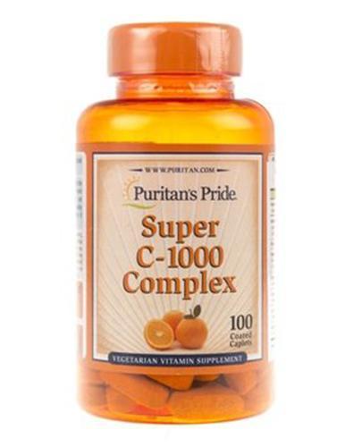 PURITAN'S PRIDE SUPER C-1000 Complex - 100 tabl. - Apteka internetowa Melissa
