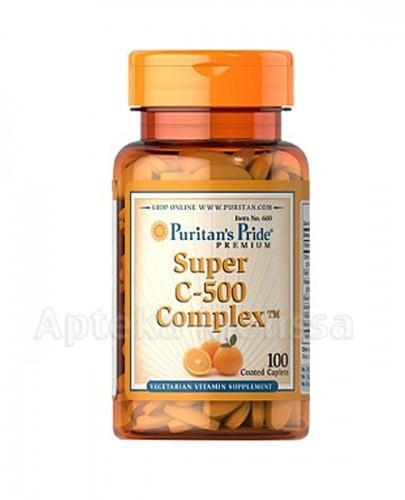 PURITAN'S PRIDE SUPER C-500 COMPLEX - 100 tabl. (PURITANS PRIDE) - Apteka internetowa Melissa