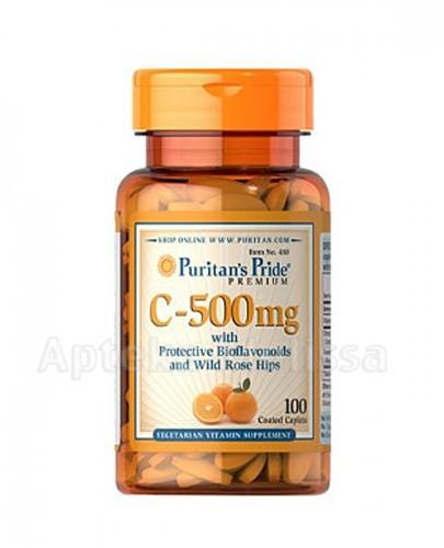 PURITAN'S PRIDE WITAMINA C-500 mg BIOFLAWONOIDY - 100 tabl. - Apteka internetowa Melissa