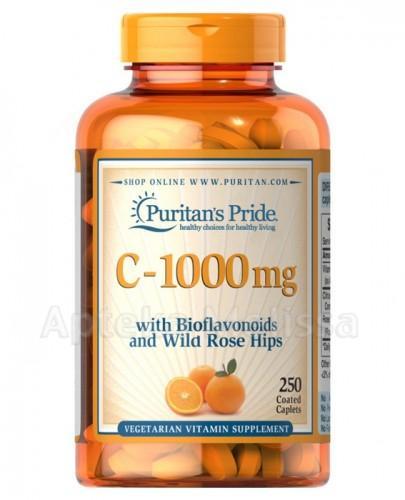 PURITAN'S PRIDE Witamina C 1000 mg - 250 kaps. (PURITANS PRIDE) - Apteka internetowa Melissa
