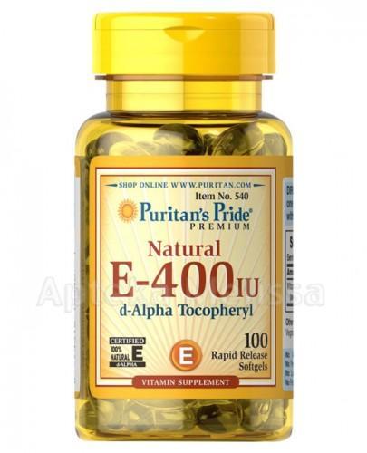 PURITAN'S PRIDE Witamina E 400 IU - 100 kaps. - Apteka internetowa Melissa