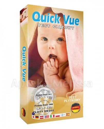 QUICK VUE Test ciążowy płytkowy - 1 szt.