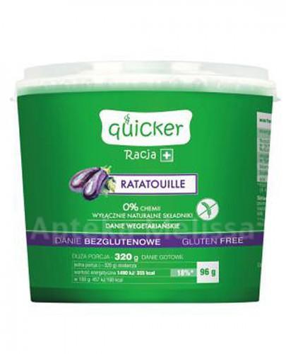 QUICKER RACJA+ Ratatouille danie bezglutenowe - 96 g - Apteka internetowa Melissa