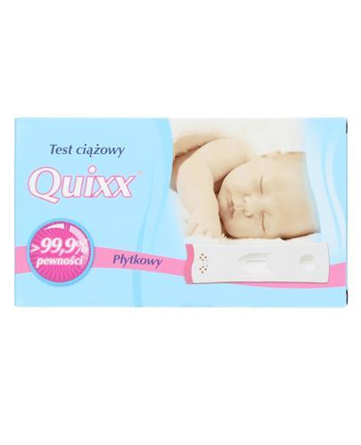 Test ciążowy QUIXX płytkowy - 1 szt. - Apteka internetowa Melissa