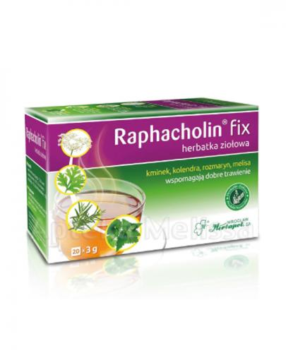 RAPHACHOLIN FIX Herbatka ziołowa - 20 sasz.