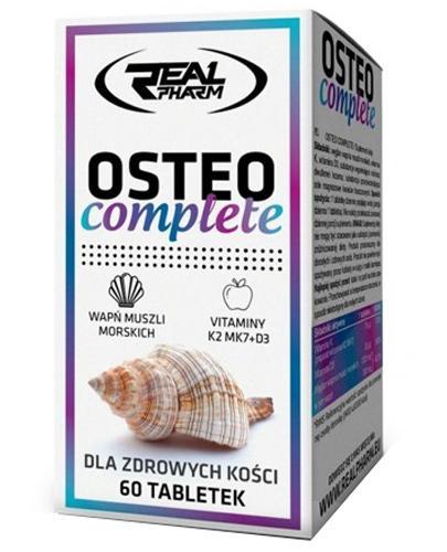 Real Pharm Osteo complete - 60 tabl. - cena, opinie, wskazania - Apteka internetowa Melissa