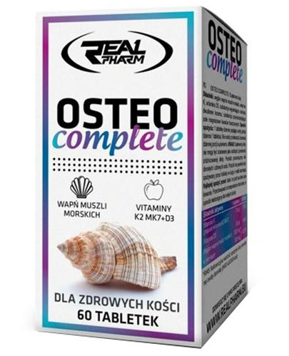 Real Pharm Osteo complete - 60 tabl. - cena, opinie, wskazania - Drogeria Melissa