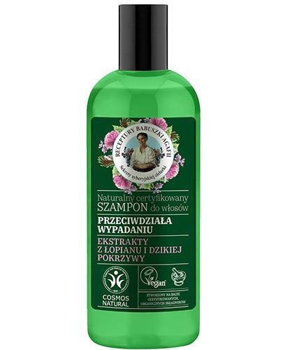 Receptury Babuszki Agafii Naturalny certyfikowany Szampon do włosów przeciw wypadaniu - 260 ml - cena, opinie, stosowanie - Apteka internetowa Melissa