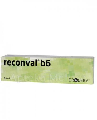 Reconval b6, krem, do skóry podrażnionej, 50 ml