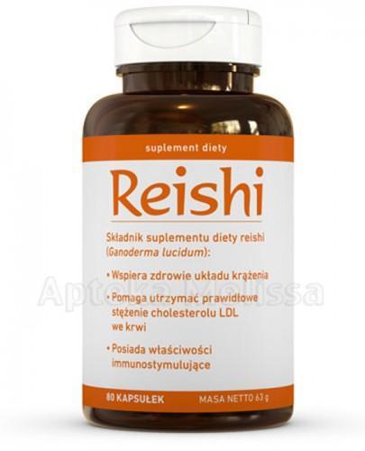 REISHI - 80 kaps. - Drogeria Melissa