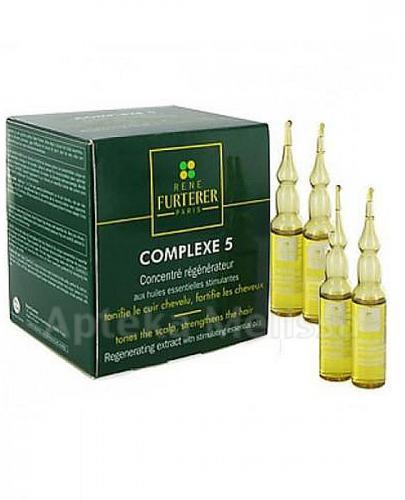 RENE FURTERER COMPLEXE 5 Koncentrat odżywczo-regenerujący do skóry głowy - ampułki 12 x 5ml - Apteka internetowa Melissa