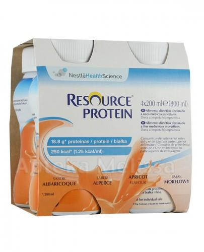 RESOURCE PROTEIN Smak morelowy - 4 x 200 ml