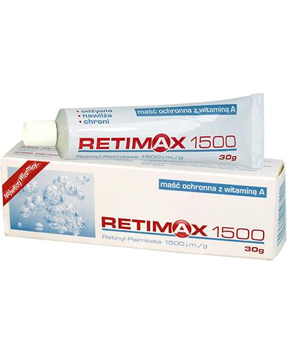 RETIMAX Maść z witaminą A - 30 g - Apteka internetowa Melissa