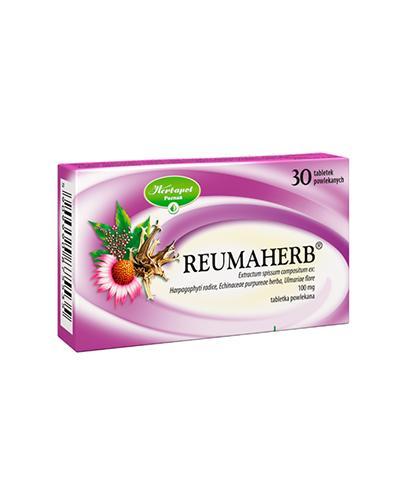 REUMAHERB - 30 tabl. Na bóle zwyrodnieniowe - cena, opinie, właściwości - Apteka internetowa Melissa