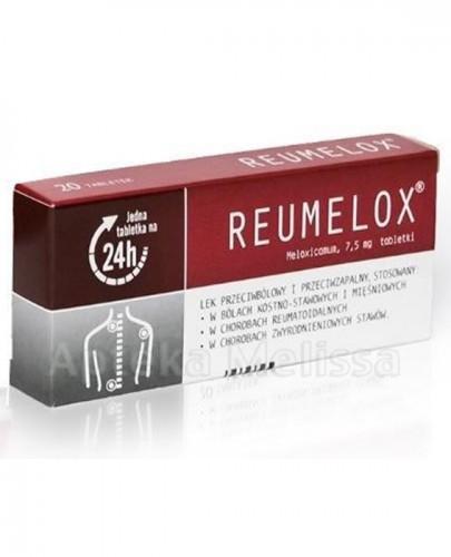 REUMELOX 7,5 mg - 20 tabl. - Apteka internetowa Melissa