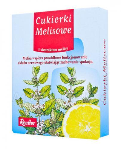REUTTER Cukierki melisowe - 50 g - Drogeria Melissa