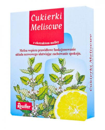 REUTTER Cukierki melisowe - 50 g - cena, opinie, stosowanie - Drogeria Melissa