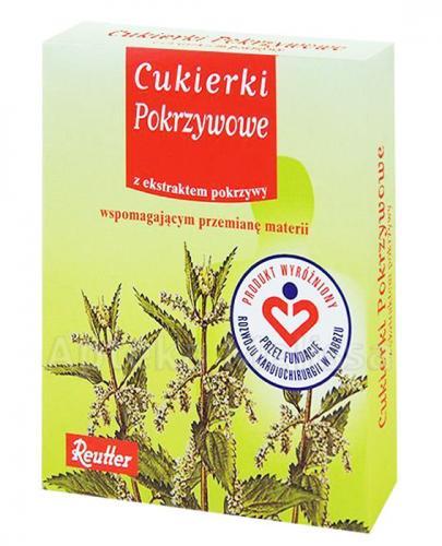REUTTER Cukierki pokrzywowe - 50 g - Drogeria Melissa