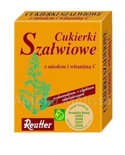 REUTTER Cukierki szałwiowe z miodem i witaminą C - 50 g - Drogeria Melissa