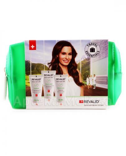 REVALID Travel Set - Szampon, Odżywka i Maska - 30 ml + 30 ml + 30 ml - Apteka internetowa Melissa