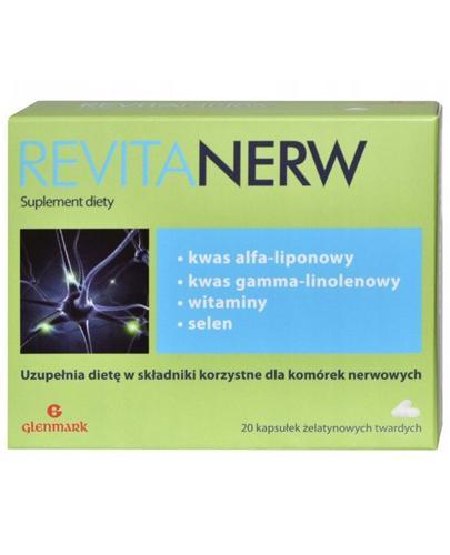 REVITANERW 575 mg - 20 kaps. - Drogeria Melissa