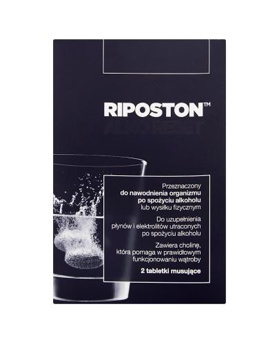 RIPOSTON - 2 tabl. mus. - Apteka internetowa Melissa